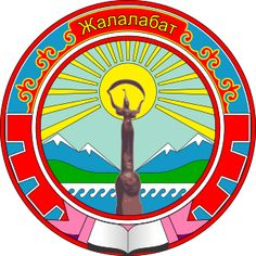 coat of arms of Jalal-Abad, Kyrgyzstan