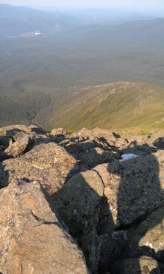 Top of Mt. Washington, NH