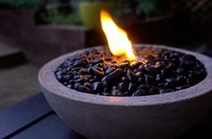 Tischplatte Beton Feuer Schüssel !   DeutWie   Wie man - Entdecke den Experte in dir!