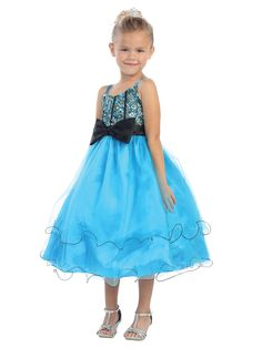 awesome TT5531 Pageant Dress w/Sequin Bodice and Sweetheart Neckline