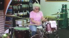 When this mystery lady walked into a Wisconsin music shop, everyone assumed she was shopping for her grandson! Little did they know she could drum like Bonzo. Check out her amazing hidden talent!
