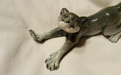 """Kitty's Kennel """"Stretch"""" Cat Figurine   eBay"""
