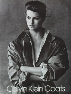 Linda Evanglista for Calvin Klein, photographed by Bruce Weber, 1988