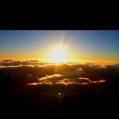 Maui sunrise.