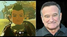 Robin Williams was one of the biggest Legend of Zelda fans on the planet. He even named his daughter Zelda. To pay their respects, Nintendo put him in Breath of The Wild. Way to go Nintendo. (Get Him To Chase You Heart)
