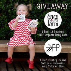Once Upon A Farm & Freshly Picked • GIVEAWAY• http://woobox.com/wiobnr