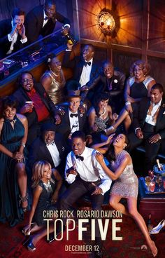 I enjoyed Top Five, written and directed by Chris Rock. Very entertaining and thought provoking - still trying to think of my Top Five.