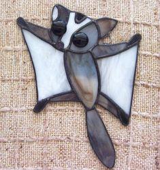 Sugar glider reserved for sayadinna stained glass sugarglider suncatcher
