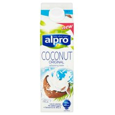 ALPRO MILK COCONUT 1L: Okay so I have a dairy intolerance & am constantly on the search for alternatives. Almond milk has been my milk duplicate for some time until now. I tried this on a whim and am smitten! It has the perfect milk consistency yet has a creamy coconut aftertaste. what really won me over was unlike almond milk it has no added sugar or any of those nasty sweeteners 100% natural with added vitamins & calcium. This will always be in my fridge and at £1.40 its a cracking FIND!