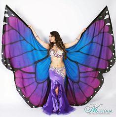 Belly Dance Wings Butterfly