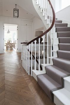Designer View - Design for Me London Architecture, Architecture Design, Hallway Inspiration, Design Inspiration, Kensington And Chelsea, Residential Architect, Hallway Designs, Next At Home, Staircases