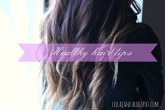 5 Healthy Hair Tips To Grow Your Hair