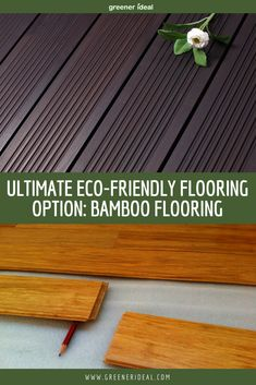The environmental advantages of bamboo floors are many. Bamboo is a high quality eco-friendly product that adds as much value to a house as a new traditional hardwood floor would. Regardless of whether you are designing a new home or remodeling an existing home with green in mind, the features and benefits of woven bamboo flooring are certainly worth your consideration. Benefits of Bamboo Flooring | Home Remodeling Ideas | #bamboo #bamboofloring #greenerideal #ecofriendly #GoGreen #GreenLiving