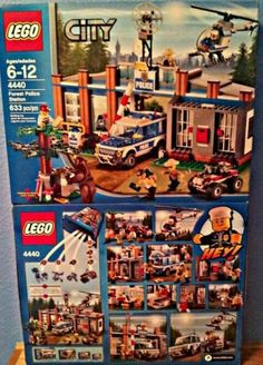 LEGO City Forest Police Station for sale online Lego City, Best Lego Sets, Lego Police, Lego Store, Police Station, Cool Lego, Lego Star Wars, Bricks, Atticus