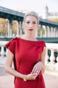 Parisian Engagement Session from One and Only Paris Photography - Style Me Pretty