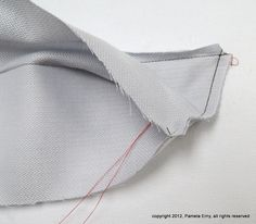 Perfect Collar Points at Off The Cuff ~Sewing Style~