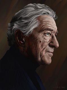 @ Adam Howard / Adam Howard Art 2021 Over The Years, Gifts For Friends, Einstein, Statue, Portrait, Illustration, Art, Robert De Niro, Art Background
