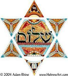 Estrella de David... Shalom.