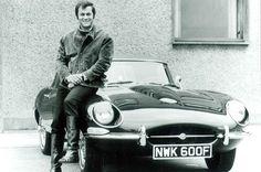 "Tony Curtis and Jaguar E-type - Stars and cars ""University Driving School"" Dream Cars, Type E, Automobile, Jaguar Daimler, Celebrity Cars, Jaguar E Type, Jaguar Cars, Jaguar Xk, British Sports Cars"