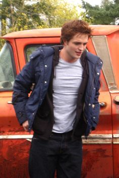 BTS Pics Of Rob On The Twilight Set