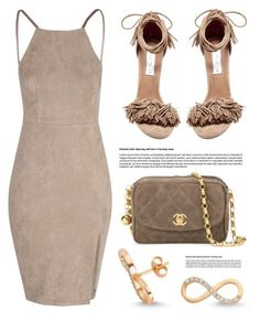 """Date Night Look"" by amorium ❤ liked on Polyvore featuring Amorium, Glamorous, Steve Madden and Chanel"