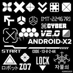 Arte Digital Fantasy, Element Signs, Impossible Shapes, Geometric Circle, Logo Design, Graphic Design, Cyberpunk Art, Design Reference, Graphic Illustration