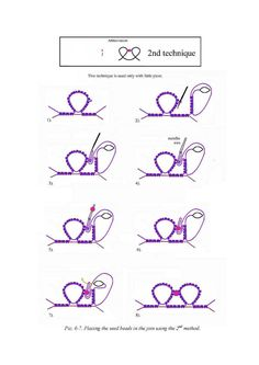 Album Archive - Ankars Beads and tatting Shuttle Tatting Patterns, Tatting Patterns Free, Crochet Patterns, Tatting Tutorial, Macrame Tutorial, Needle Tatting, Tatting Lace, Embroidery Stitches Tutorial, Bead Sewing