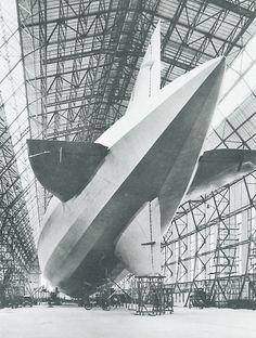 Airship, Los Angeles, Construction
