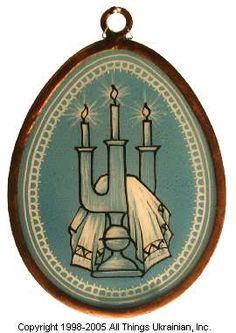 Stained glass Easter Egg Pysanky # 05-2060 from Ukraine. http://www.allthingsukrainian.com