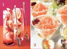 Champagne Desserts for New Year's Eve
