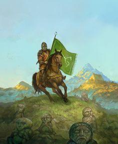 Horse Lords of Rohan by JonHodgson.deviantart.com on @DeviantArt