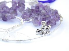 Purple Amethyst Tree of Life Pendant FREE by PhillipaJaneDesigns