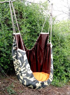 SALE - Zaza baby hammock - Sahara Chocolate -  A wonderful place to sleep or play. Use Etsy coupon code BYEBYE2011 for 10% discount