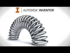 An Autodesk Inventor tutorial on how to model a *proper* adaptive curved spring/coil, using the freely available Inventor sample files. Autocad Inventor, Autodesk Inventor, Spring Tutorial, Central Processing Unit, Youtube, Architecture, Arquitetura, Architecture Design, Youtubers