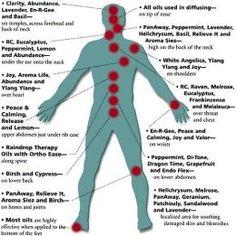 Aromatherapy essential oil application areas