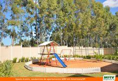Playground do Spazio Aramis. Condomínio fechado da MRV Engenharia em Americana/SP.