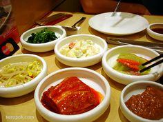 Korean. Oh how I miss turnip kimchie & sticky white rice! Yummy