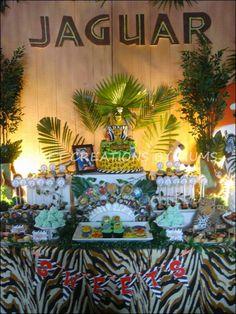 Jaguar 1st Birthday | CatchMyParty.com