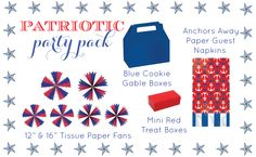 #4thofJuly party supplies #giveaway from @AmysPartyIdeas