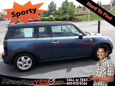 2011 Mini Cooper For Sale in Portland Oregon Cars for Sale Buy Here Pay Here Car Lots Bad Credit Car Loans Buy Here Pay Here http://jeremysaysyes.com/car-details/?car_id=430