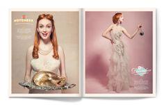 Calendar Girl by Matt Chase, via Behance