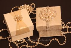 Beautiful favor boxes. Luxury favors for your wedding or event. It makes such a great gift #weddingfavor #favorbox