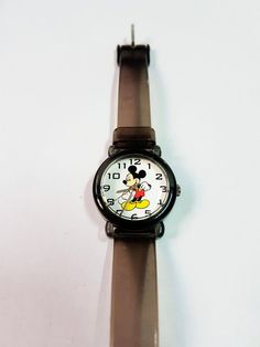 Mickey Mouse Watch Mickey Watch for men Mens watch womens Executive Fashion, Executive Style, Mickey Mouse Watch, Watches For Men, Gold Watches, Luxury Watches, Pink And Gold, Unique Jewelry, Etsy