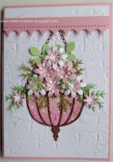 Kaartcreaties Wow...lovin this card...it is the first card I ever saw with a hanging plant...soooo pretty---mjr