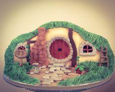 Hobbit hole cake by Wintersgate Bakery