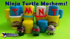 Toy Box Magic here!! And we LOVE Mashems! Especially when they're wrapped in Play Doh! We're coming to you today with part 2 of this video series where we open 24 (in all) Teenage Mutant Ninja Turtles TMNT mashems.  These are series 1 mashems and we opened half of the TMNT mashems (12) on video 1 and now we are opening the remaining 12 of this video here!   https://youtu.be/OJTzUR5anNw