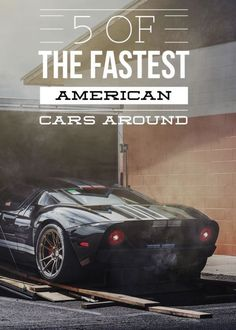 5 of the Fastest American Cars Around. God bless the U.S.A.