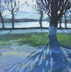 "Saatchi Online Artist: Pasha Gryniuk; Oil, 2012, Painting ""March.Shining"""