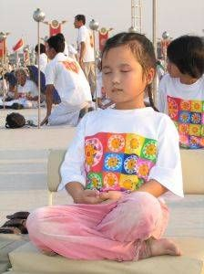 Meditation For Children. Who says that meditation is only for adults?