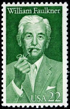 William Faulkner stamps - photo HipschenUSA2350Faulkner8-3-87.jpg
